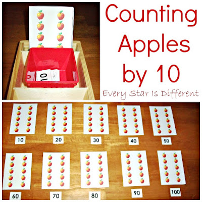 Counting Apples by Ten
