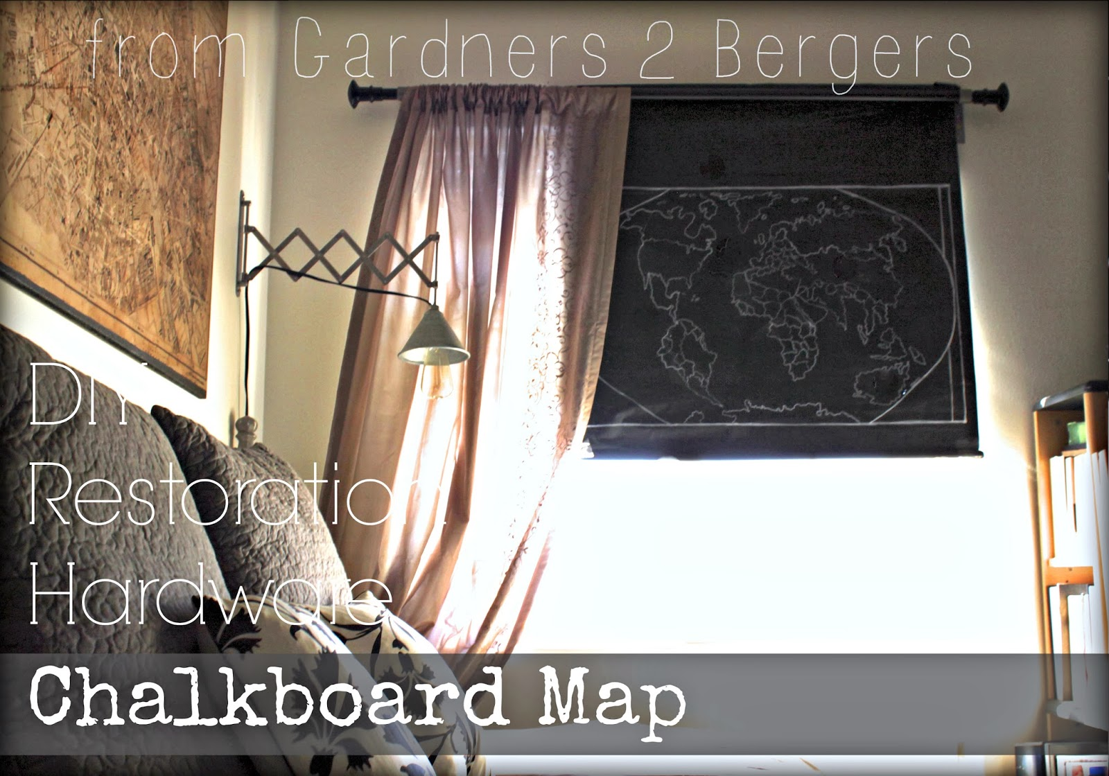 DIY-Restoration-Hardware-Chalkboard-Roller-Map