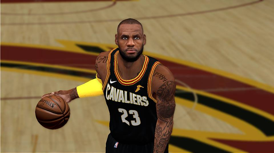 Lebron James Cyberface Realistic [Updated Looks] [FOR 2K14] - NBA 2K Updates, Roster Update ...