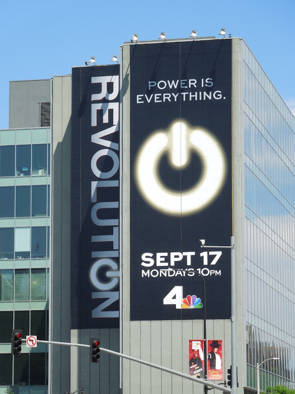 Revolution Power everything billboard
