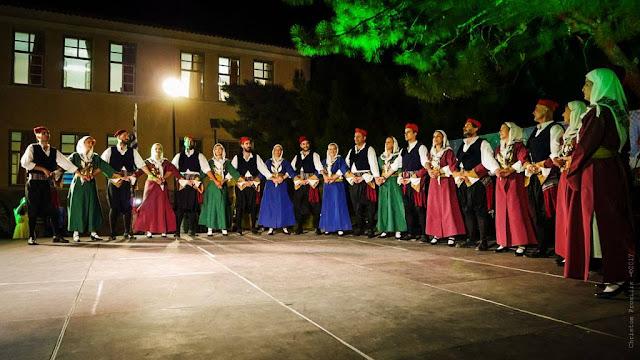 Εξαιρετική παράσταση των τμημάτων της Χορευτικής Ομάδας του Δήμου Ερμιονίδας
