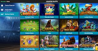 LigaFox Slot Games
