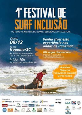 1º Festival de Surf inclusivo