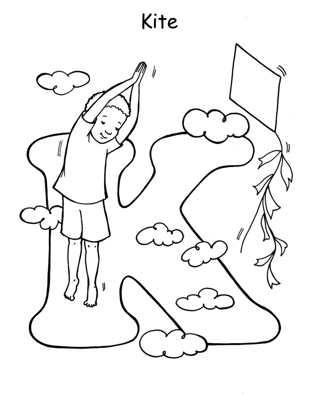 yoga coloring pages for kids - photo#6