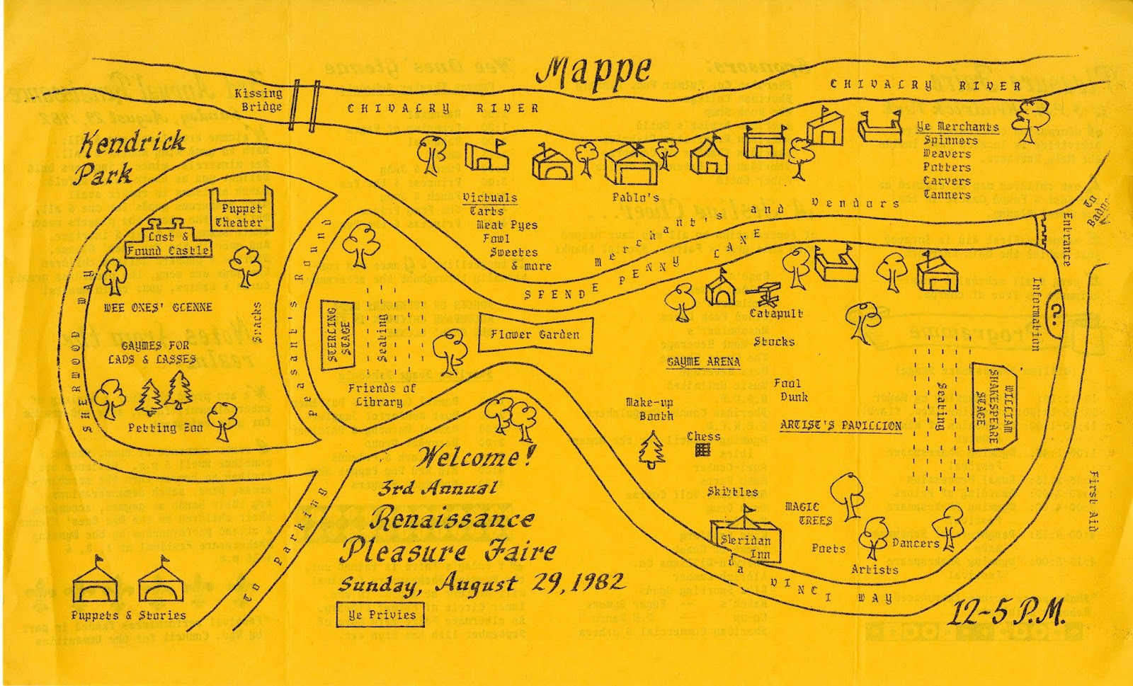 The Wyoming Room Sheridan County Fulmer Library 1980 1987 Catapult Engineering Schematics 1982 Renaissance Faire Mappe Click To Enlarge