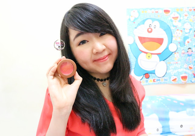 Apieu Cheek Chok Blush in Coral Compote Review and Swatches #MeisUniqueBlog