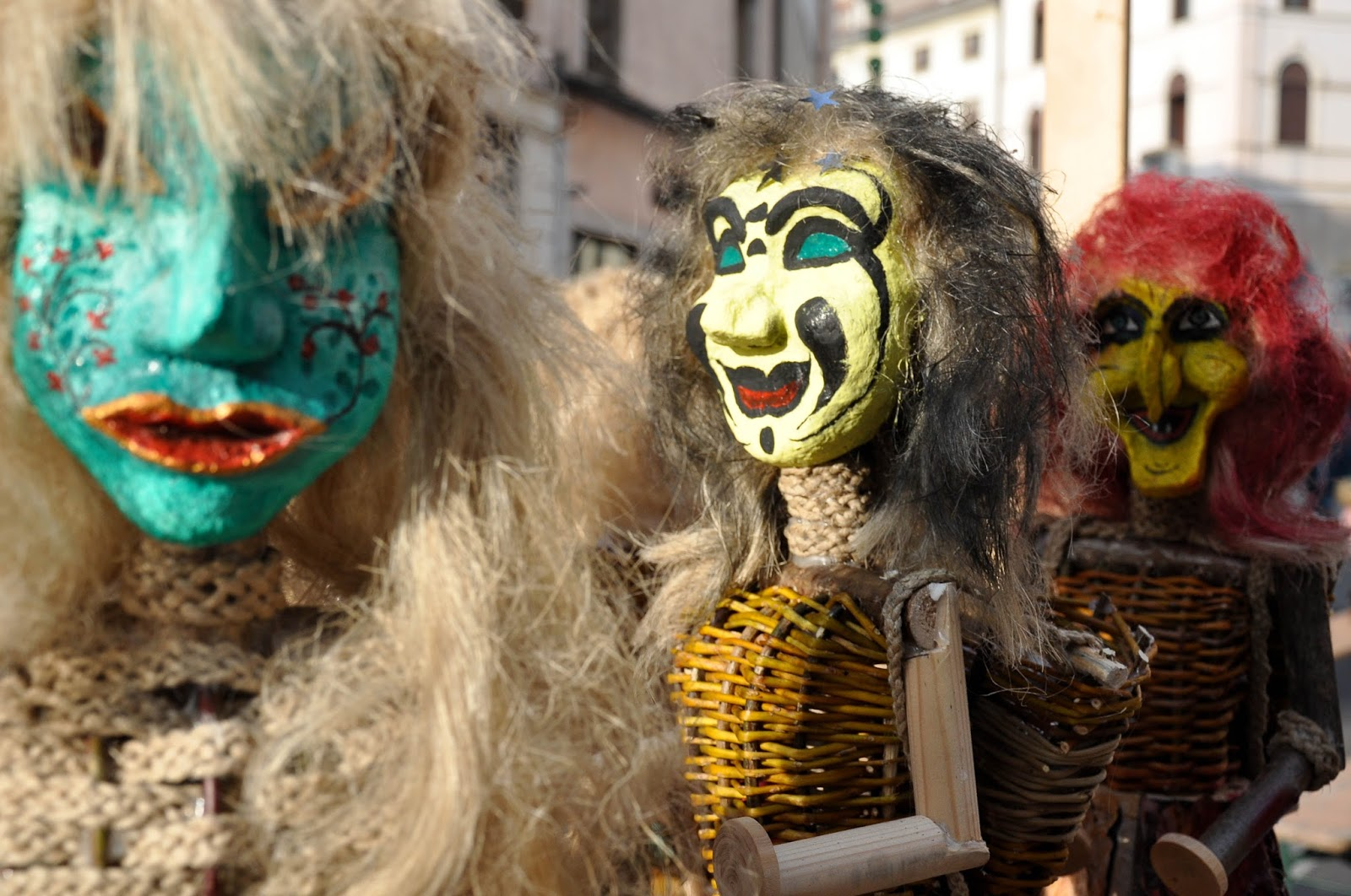 Three witches called 'strie' typical of the Northern Italian region of Veneto
