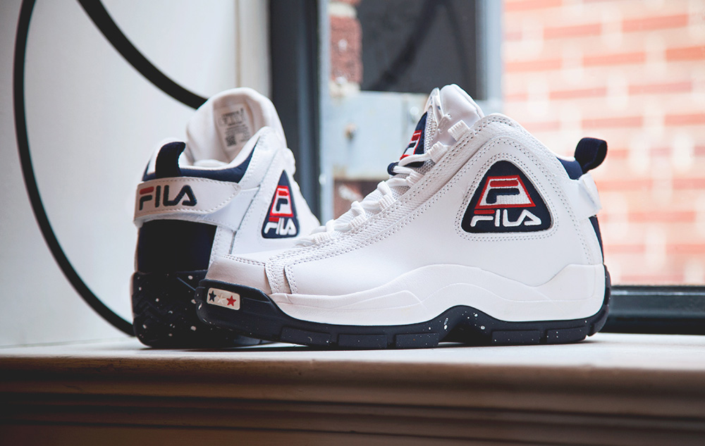34e9a2bfc05 I can guarantee that almost everyone my age had the original version of the  Fila 96 Grant Hill s when they were in school dating back to Hill s Detroit  ...