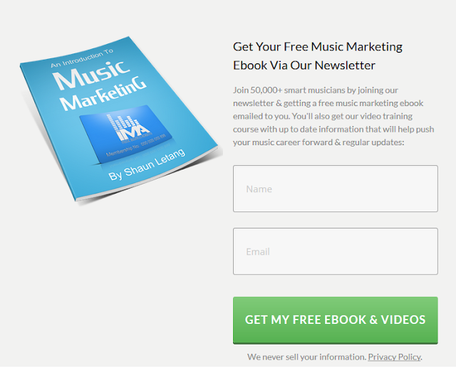 free pdf ebook about music marketing and music business