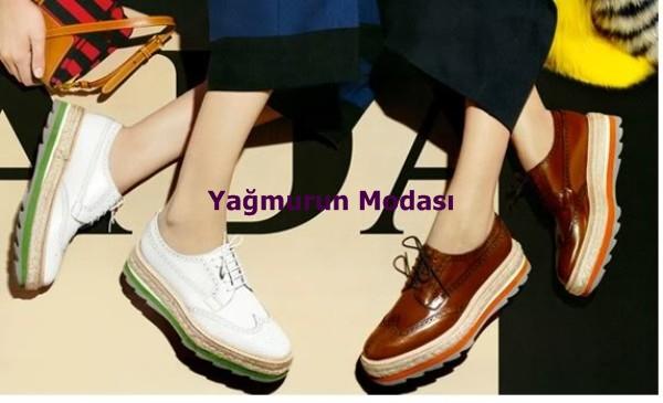 bd1fff5f648c5 Yağmurun Modası: Platform Tabanlı Spor Ayakkabılar