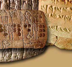 Mesopotamia Cuneiform Writing Alphabet