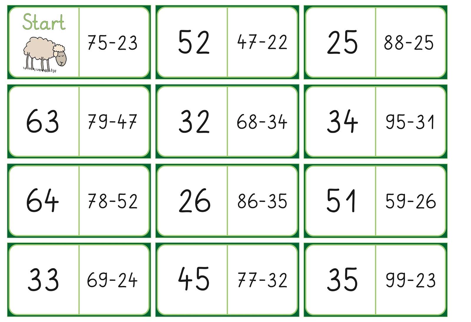 Lernstübchen: noch ein Domino
