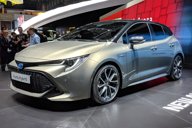2019 Toyota Corolla could gain hot hybrid GRMN model
