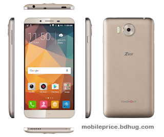 Symphony ZVII (2 GB Ram) Feature, Specification, Price In Bangladesh