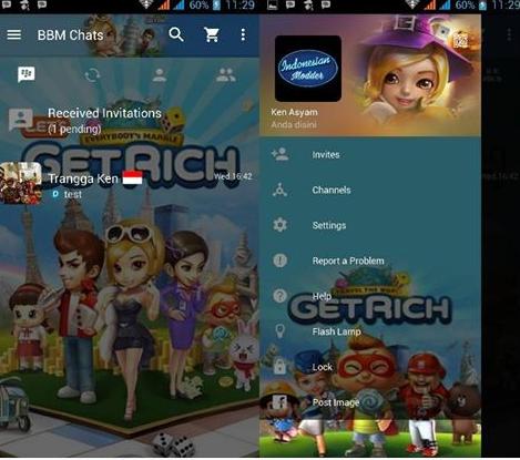 MOD BBM Get Rich v2.12.0.9 Clone
