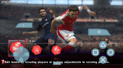 PES 2017 Patch Army PPSSPP