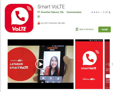 smart VoLTE mengatasi kartu smartfren tidak bisa