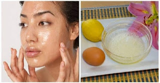 Lemon Mask Reduces Wrinkles