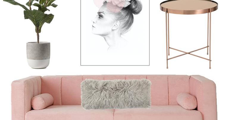 blush copper grey home decor flip and style. Black Bedroom Furniture Sets. Home Design Ideas