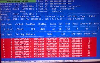 Cara cek kerusakan ram menggunakan memtest86+