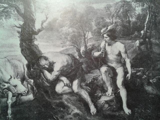 Hermes, Argos panoptes e Io
