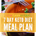 Week 1: FREE 7 Day Ketogenic Vegetarian Meal Plan & Menu!!