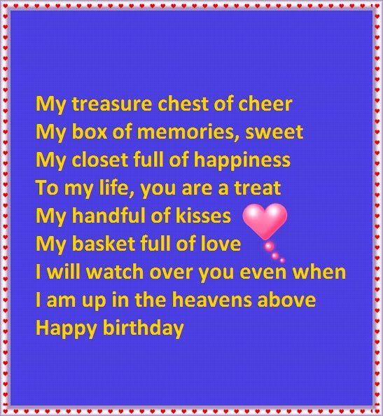 A Verse For Granddaughter Birthday