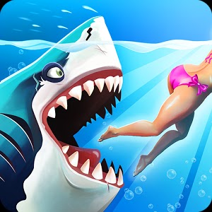 Hungry Shark World V 1.0.6 APK MOD (Unlimited Coins and Gems + Remove Anti Cheat Detection)