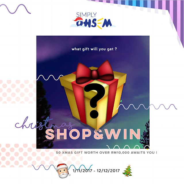 Xmas 'Shop and Win' Gift Campaign dari Simply Ohsem