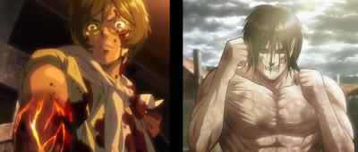 Kabaneri vs Titan Shifter
