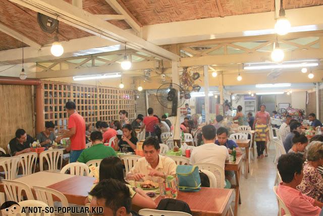 Interior of Aida's Chicken, Bacolod