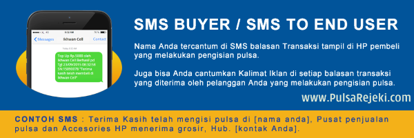 PulsaRejeki.Com Cara Setting SMS End User Promosi Pulsa / SMS Buyer Termurah