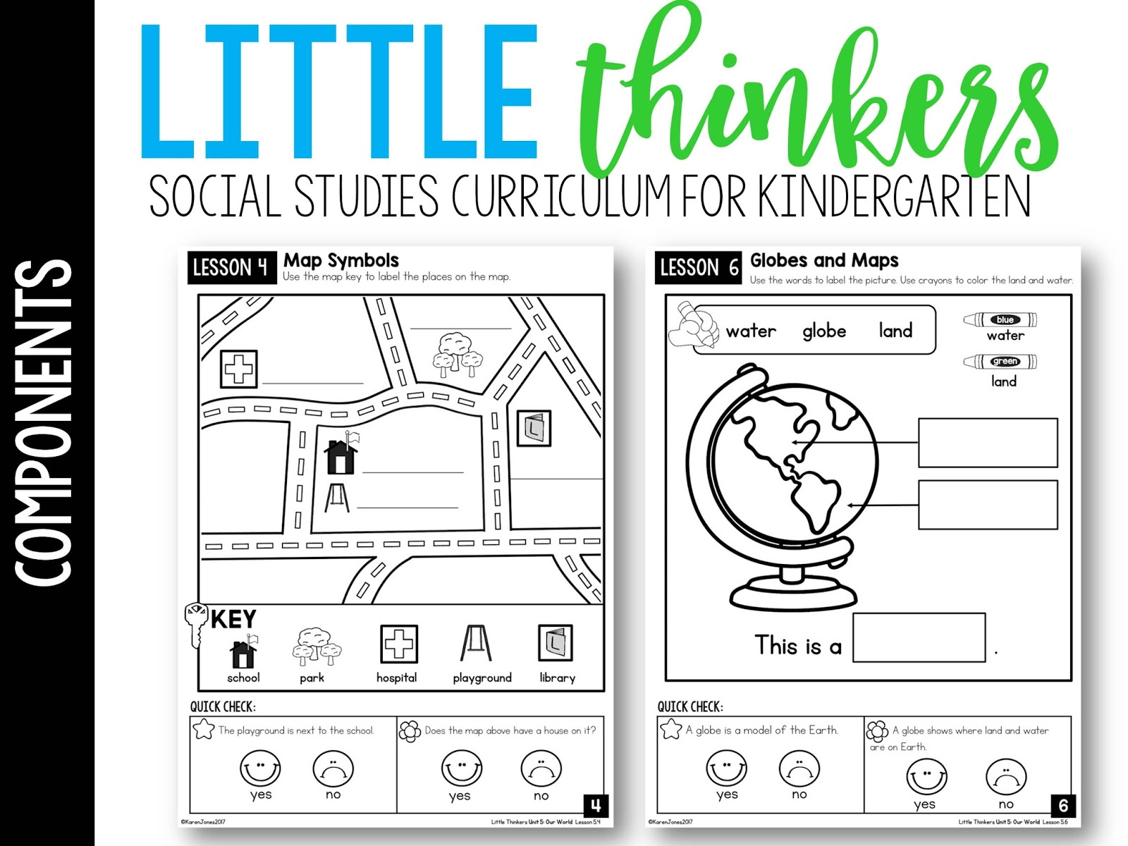 Little Kindergarten Social Stu S Thinkers Unit 5 Our