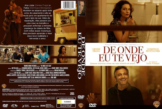 Capa DVD De Onde Te Vejo