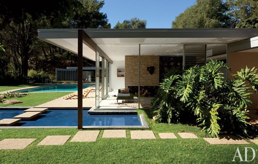 Richard Neutra S Henry E Singleton House 15000 Mulholland Drive Los Angeles
