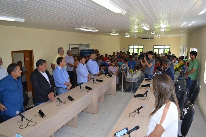 LUTO: Ex-vereador Pindoba recebe homenagens póstumas na Câmara Municipal de Matões