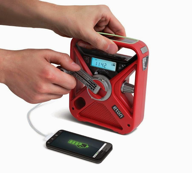 Best Off Grid Power Gadgets - Eton FRX3 Handpowered Recharger