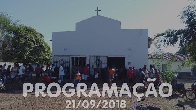 Festa de São Miguel Arcanjo - Programação 21/09/2018