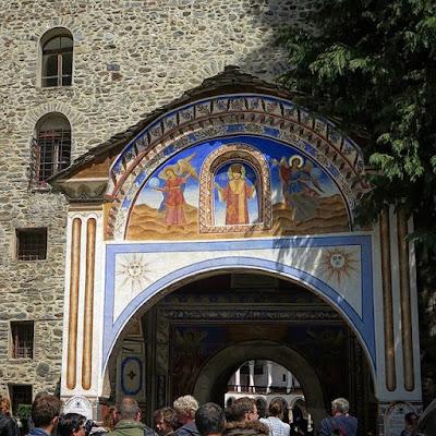 Entrada al monasterio de San Juan de Rila
