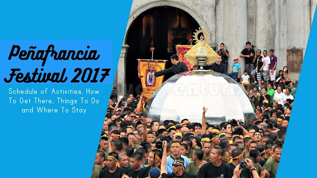 Peñafrancia Festival 2017 Schedule of Events Naga City Camarines Sur