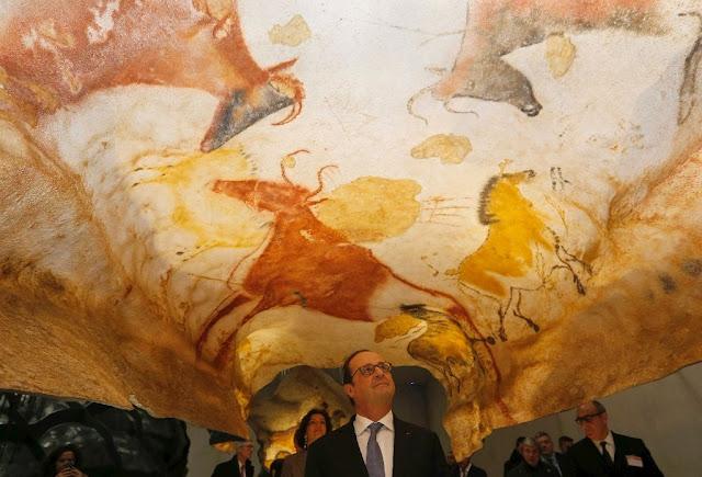 France opens new Lascaux prehistoric art cave replica