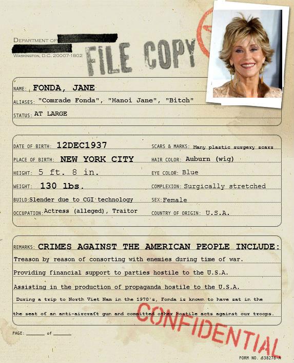 The People S Justice Files Dossier 12121937 Fonda Jane