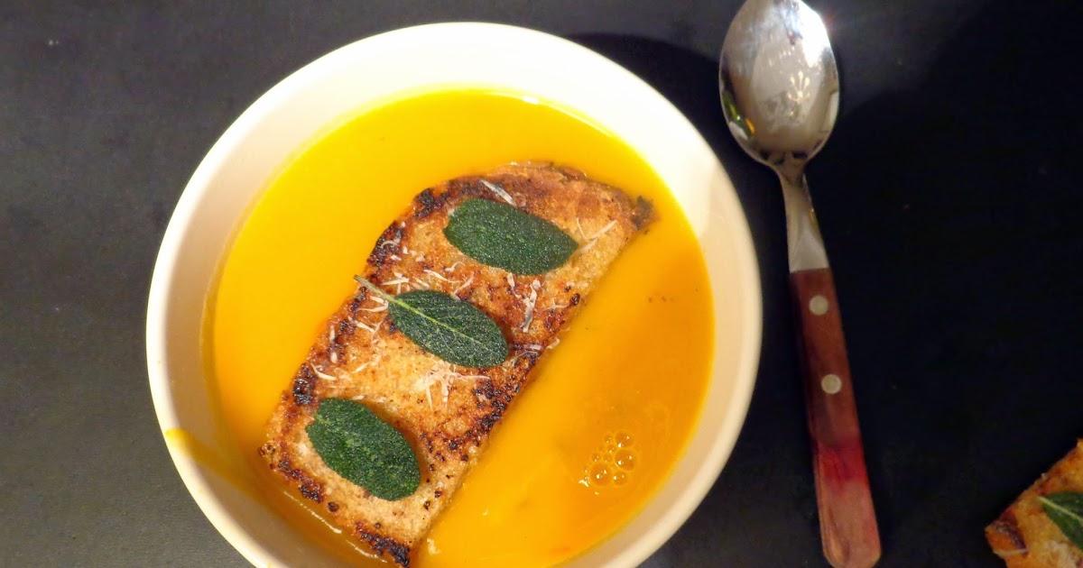 wat ik gegeten heb: italiaanse pompoensoep van jamie oliver