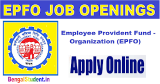 EPFO Assistant Recruitment 2019 -  Online Now for 280 Posts