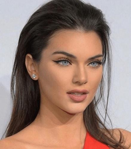 Descripción: 10 Famosos que Usan Lentillas de Contacto - Kendall Jenner