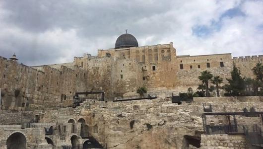 Israel Serang Warga yang Shalat di Masjid Al-Aqsha