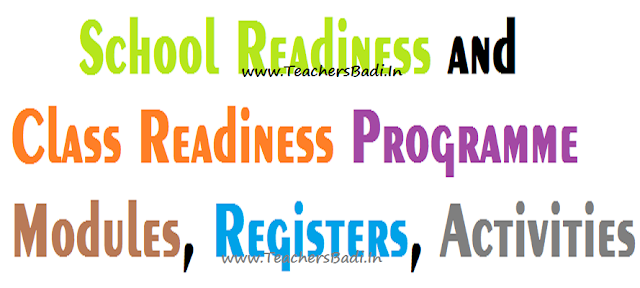 School Readiness Class Readiness Program Modules, Registers, Activities