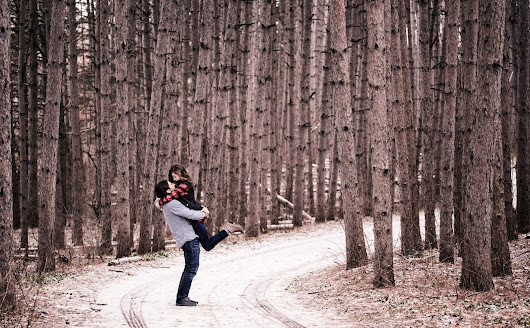 Rice Creek Park | Engagement Session | Caitin + Christopher