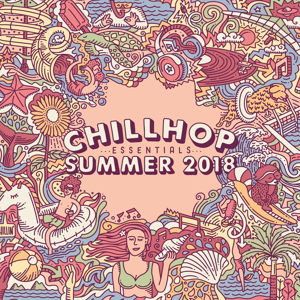Chillhop Essentials - Summer 2018 | Full Album Stream - Vinyl Tipp