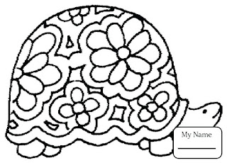 Turtle Coloring Pages Ideas Online